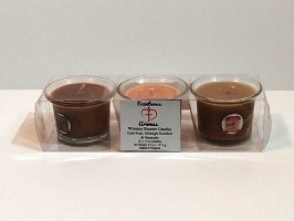 Whiskey Shooter Soy Wax Candles